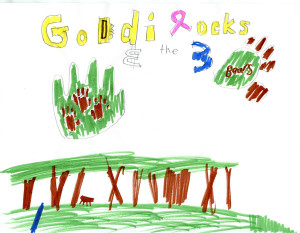 Godlilocks middle school poster 1