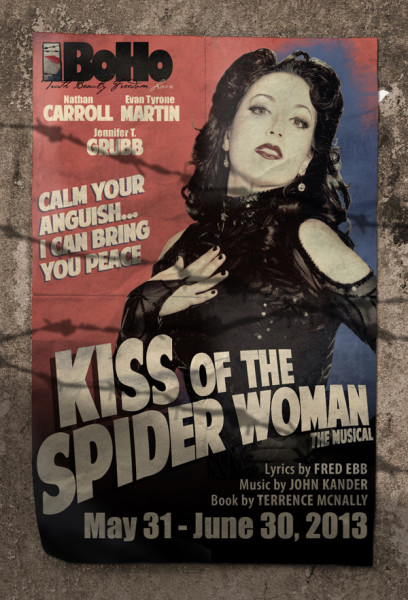 BoHo Theatre: Postcard: Kiss of the Spider Woman, by Grab Bag Media