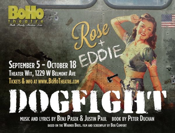Boho Theatre's Dogfight ad