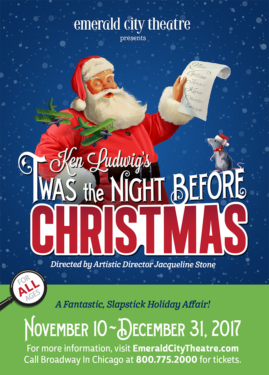 Emerald City Theatre's Twas The Night Before Christmas, by Grab Bag Media
