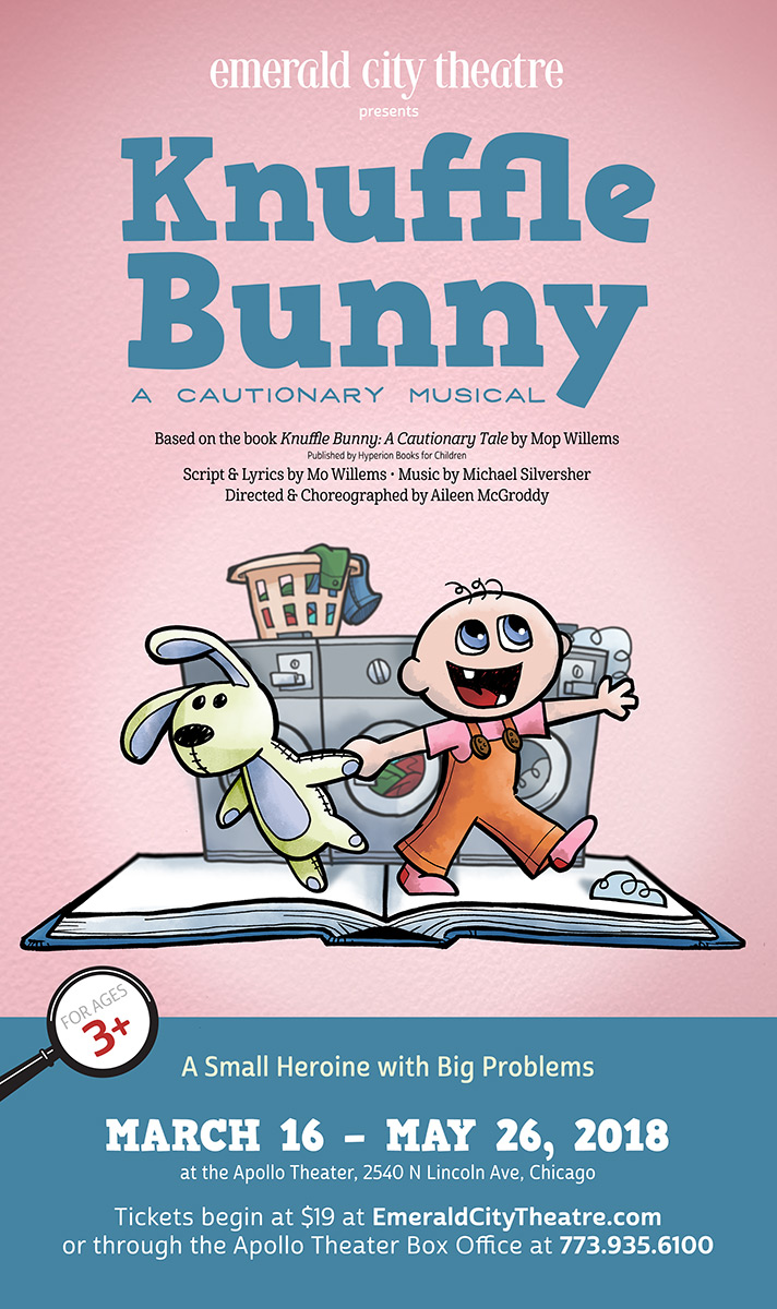 Emerald City Theatre's Knuffle Bunny, by Grab Bag Media