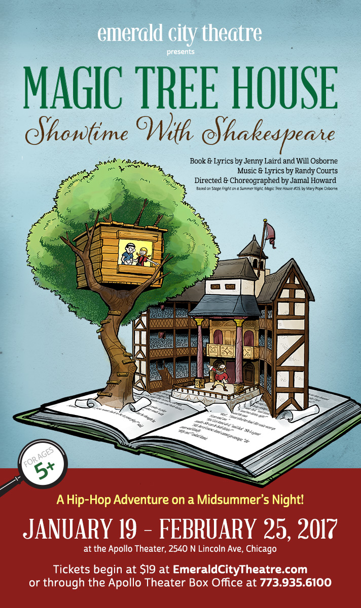 Emerald City Theatre's Magic Tree House: Showtime With Shakespeare, by Grab Bag Media