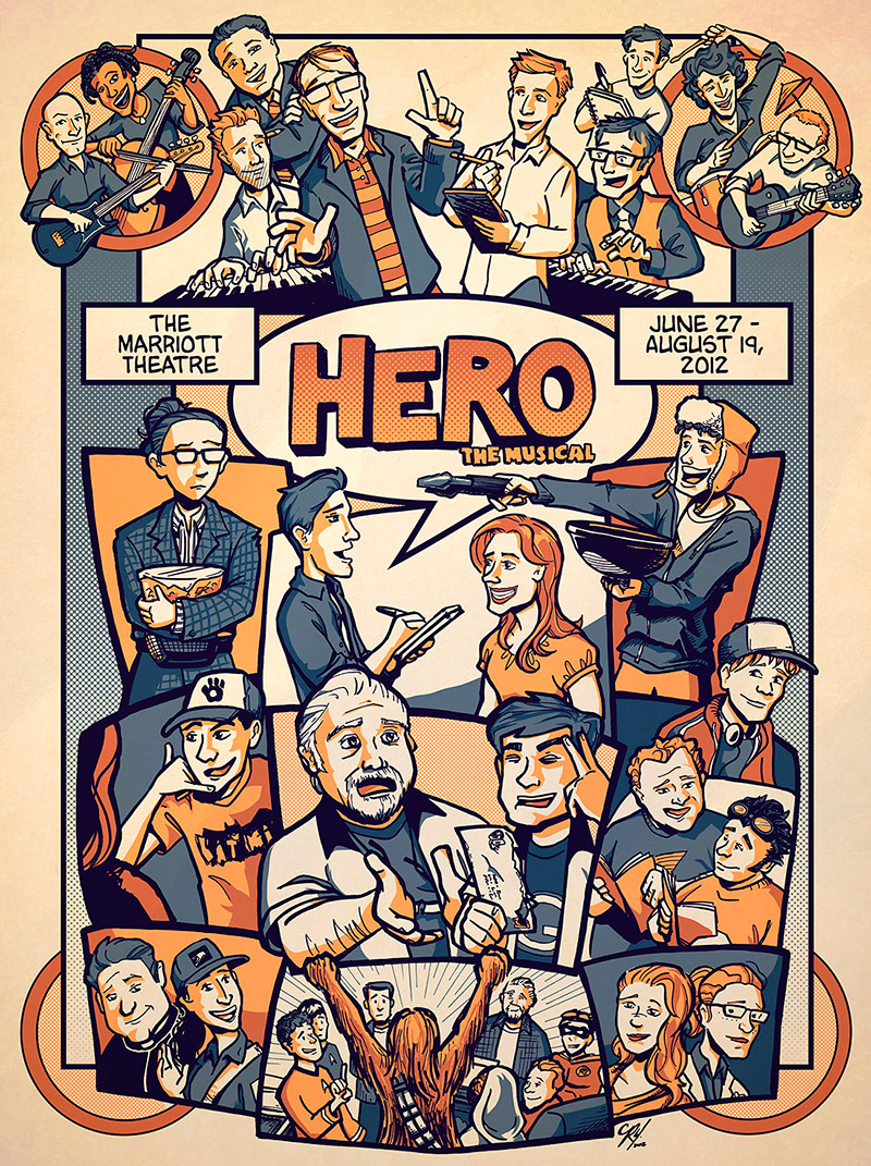 Hero: Production team poster