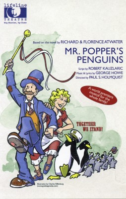 Mr Popper's Penguins postcard