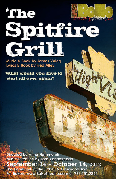 spitfire grill Music and book by james valcq, lyrics and book by fred alley, based on the film by lee david zlotoff a feisty parolee follows her dreams to sleepy gilead, wisconsin, and finds a place for herself working at hannah's spitfire grill.
