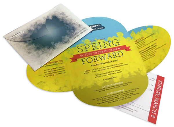 Remy Bumppo Spring Forward 2014 benefit invitation