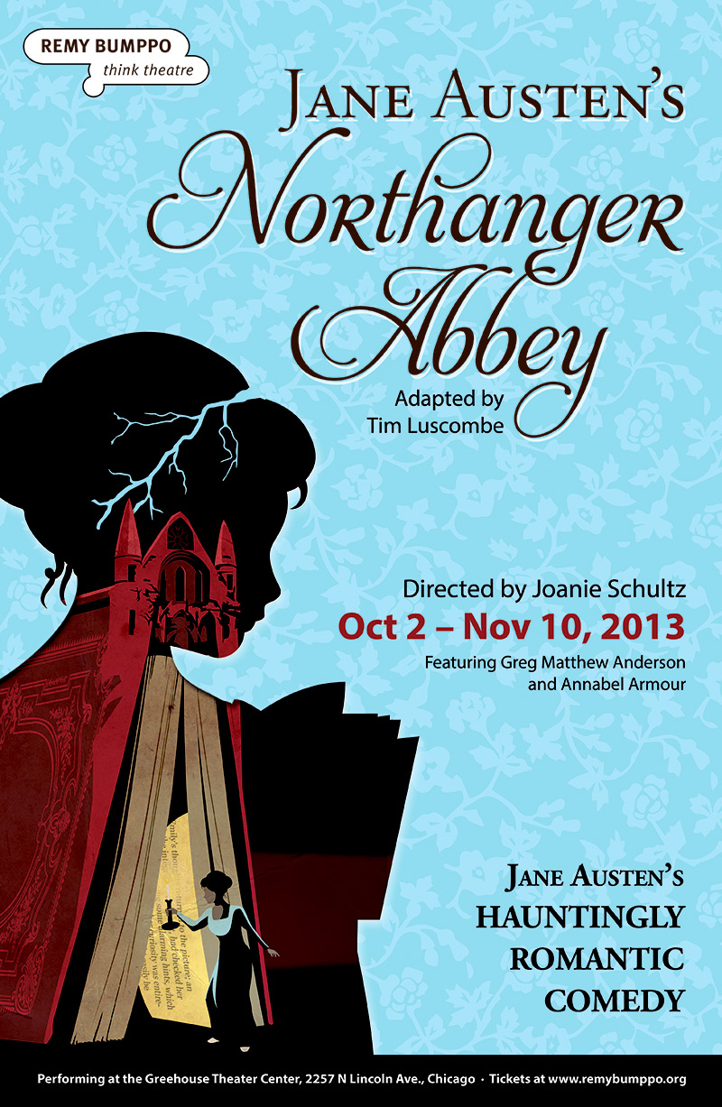 Poster: Northanger Abbey (Remy Bumppo), by Grab Bag Media