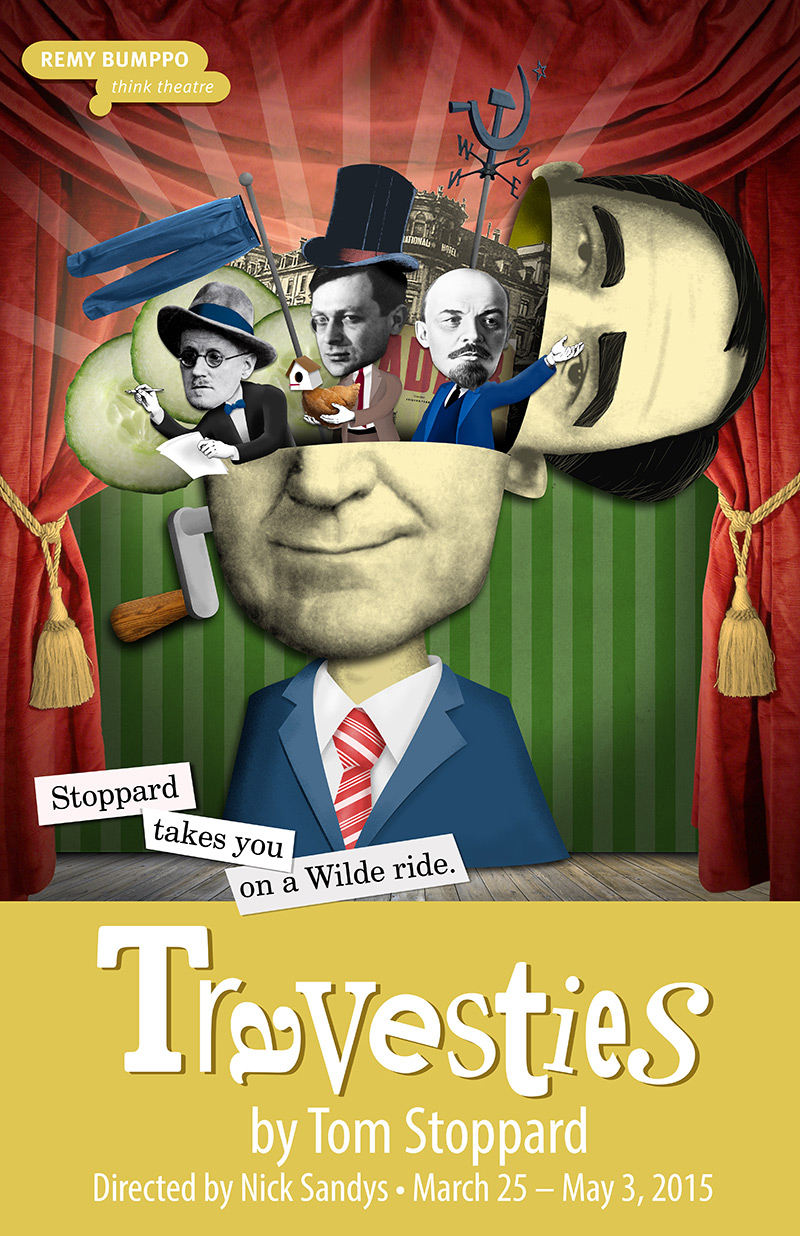 Remy Bumppo: Poster: Travesties (by Grab Bag Media)