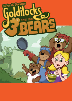 Stiles & Drewe: Goldilocks and the Three Bears poster (wip) by Grab Bag Media