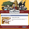 Screen cap of Dumbstruck website
